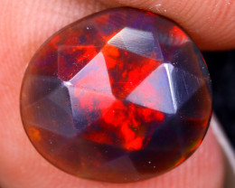 Rose Cut 1.81cts Natural Ethiopian Smoked Welo Opal /BF9322