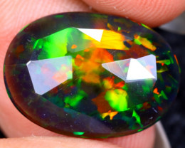 Rose Cut 4.08cts Natural Ethiopian Smoked Welo Opal /BF9325