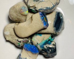 Nobby Opal Formations Full of All the Bright Colours