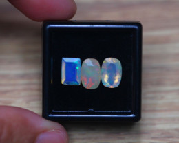 2.52Ct Natural Ethiopian Welo Faceted Opal Lot D227