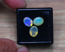 3.36Ct Natural Ethiopian Welo Faceted Opal Lot D243