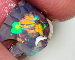 Super Bright Multicolour Nobby Opal Rough/Rub - Collectors Specimen
