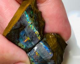 Winton Split Boulder Opal - Should Watch The Video