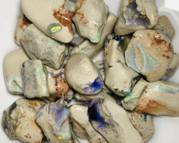 480 CTs of Bright Multicolour Rough Nobby Opals#040