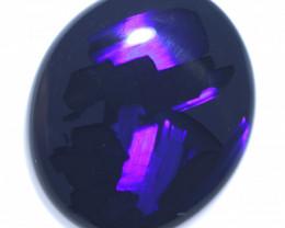 5.65 Cts Nice Oval Shape Black Opal Code RD 461