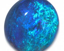 5.85 Cts Nice Oval Shape Black Opal Code RD 465