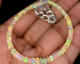 16.90 Crts Natural Ethiopian Welo Opal Bracelet 70