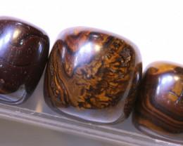 165.15 CTS-Yowah Opal Bead Parcel 3- pcs  Ro-2096   raniopals