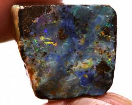 17.05 Cts Boulder Opal prefinished Rub  Ado-9918   Adopals