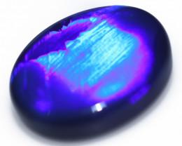 11.05 Cts Nice Oval Shape Black Opal Code RD 481