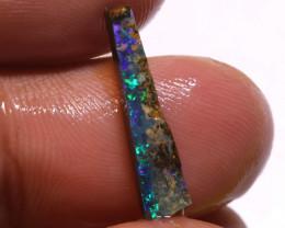 2.65 Cts Boulder Opal prefinished Rub  Ado-9989   Adopals