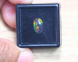 1.64Ct Natural Ethiopian Welo Smoked  Opal Lot D301