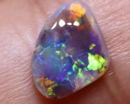 N5 0.86      carats Dark Solid Opal Lightning Ridge ANO-3085