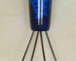 Brass Opal Grabber -Blue