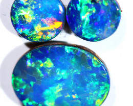 2.54 CTS  OPAL DOUBLET SET 3 [SO2157]