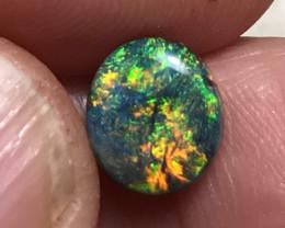 2.04 cts Black Opal - Lightning Ridge
