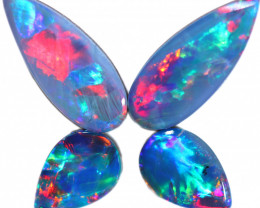 1.55 CTS  OPAL DOUBLET SET 4 [SO2164]