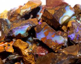 100 cts Yowah Opal Offcut Chip Rough Parcel ADO-10004       adopals