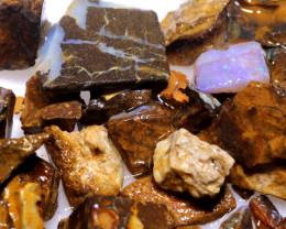 100 cts Yowah Opal Offcut Chip Rough Parcel ADO-10007       adopals