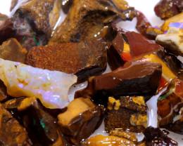 100 cts Yowah Opal Offcut Chip Rough Parcel ADO-10009       adopals