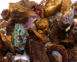 100 cts Yowah Opal Offcut Chip Rough Parcel ADO-10013       adopals