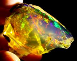 154cts Ethiopian Crystal Rough Specimen Rough / CR5262