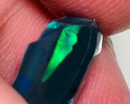 N1 Jet Black Seam Rough Opal with Wide Bright Clean Bar