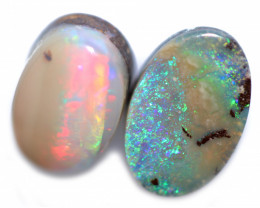 7.00 cts Boulder Opal Oval Parcel-from Winton [BMB1658]