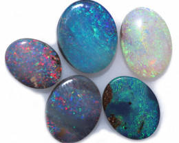 6.17 cts Boulder Opal Oval Parcel-from Winton [BMB1660]