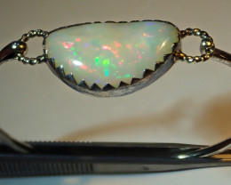 30ct Natural Ethiopian Welo Opal .925 Sterling Silver