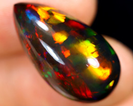 12.32cts Natural Ethiopian Welo Smoked Opal / BF9741
