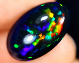 6.24cts Natural Ethiopian Welo Smoked Opal / BF9757
