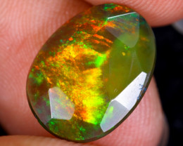 Rose Cut 2.20cts Natural Ethiopian Smoked Welo Opal / BF9688