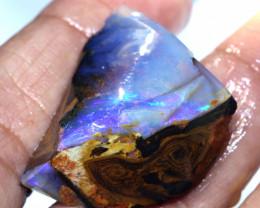 55.50 cts Boulder Opal Rough  DT-A5595   Dreamtimopals