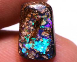Koroit Boulder Opal Ring Stone AOH-1155  -australianopalhunter