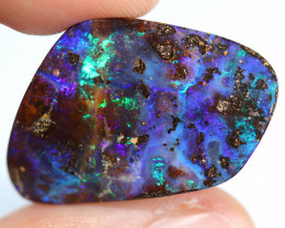 26.83 CTS BOULDER OPAL STONE FROM WINTON -[BMB1722]