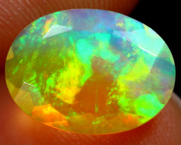 1.68cts Natural Ethiopian Welo Faceted Opal/ BF9845
