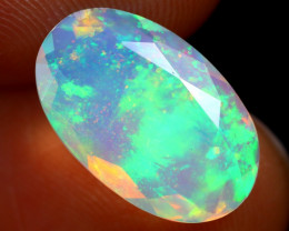 1.94cts Natural Ethiopian Welo Faceted Opal/ BF9854