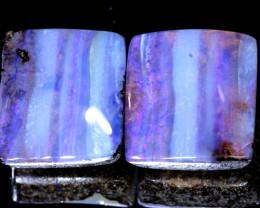 22.85 -CTS  BOULDER  OPAL  PAIR   NC-9953   Niceopals