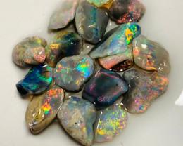 Super Bright Multicolour Rough Opals to Cut & Finish