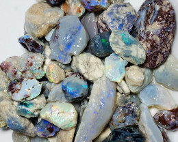 300 CTs of Bright Rough Opals to With Bice Pieces to Cut#304