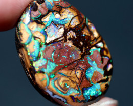 40.36 CTS KORIOT STONE FROM ELUSIVE MINE-WELL POLISHED [PS777]