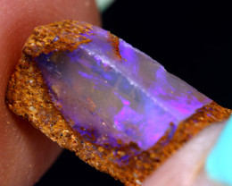 4.80 cts Boulder Pipe Opal Prefinished Rubs ADO-10083   adopals