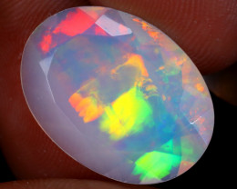 5.93cts Natural Ethiopian Faceted Welo Opal / UX1590