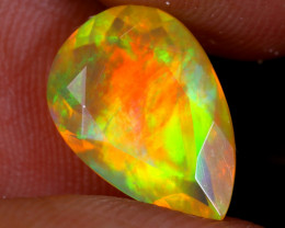 2.18cts Natural Ethiopian Faceted Welo Opal / UX1607
