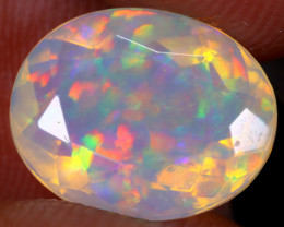 2.74cts Natural Ethiopian Faceted Welo Opal / UX1613