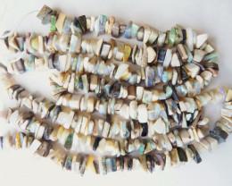 Australian Andamooka Matrix Chip Bead Strand 800mm long