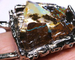140 CTS WHEEL BARROW WITH OPALS OF-2995 OPALSFOREVER