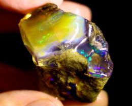 128cts Ethiopian Crystal Rough Specimen Rough / CR5309