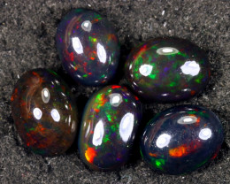 19.52cts Natural Ethiopian Smoked Welo Opal LOTS / UX1621